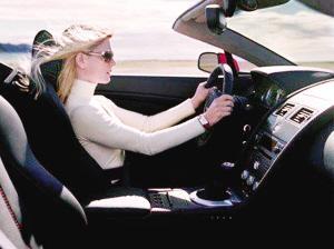 梦见别人开车