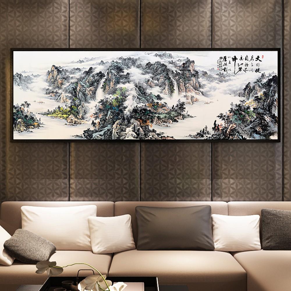 富贵人家都在沙发后挂这几幅画,你一定没想到!