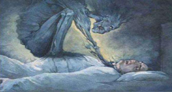 """遭遇所谓的""""鬼压床""""时,唤醒自己的十种方法!"""