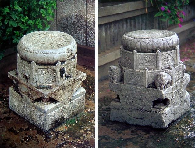 柱础 | 这块垫在脚下的石块,支撑着中国古建千年不倒!